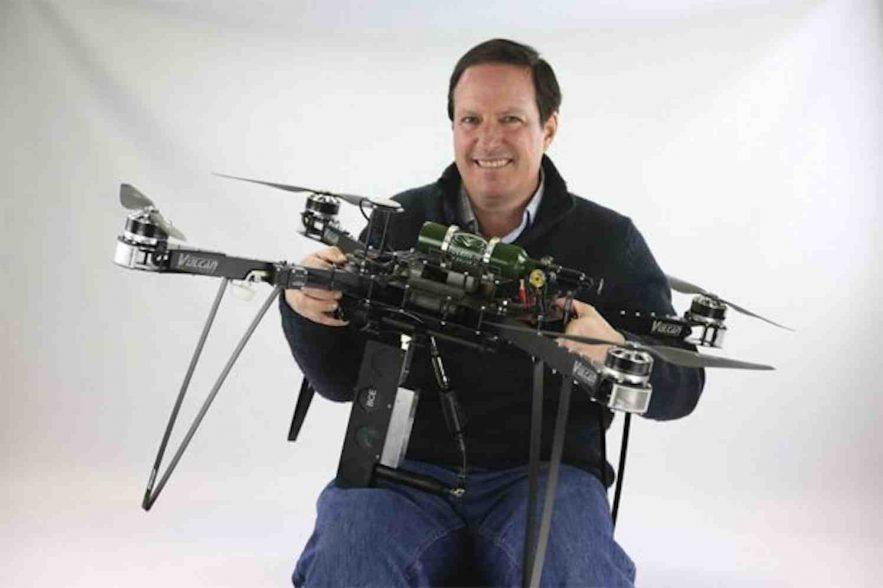 met drones bomen pmnaten