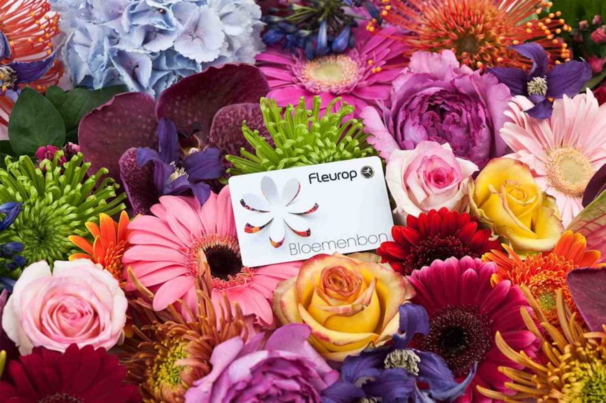 Fleurop vernieuwt bloemenbon