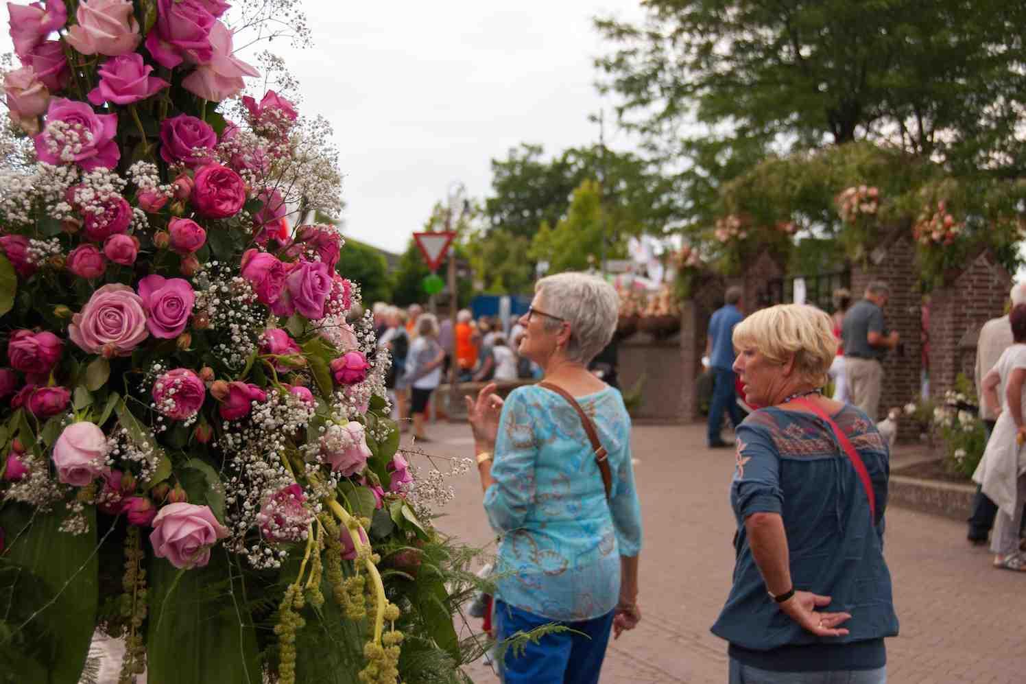 jubileum rozenfestival in Lottum