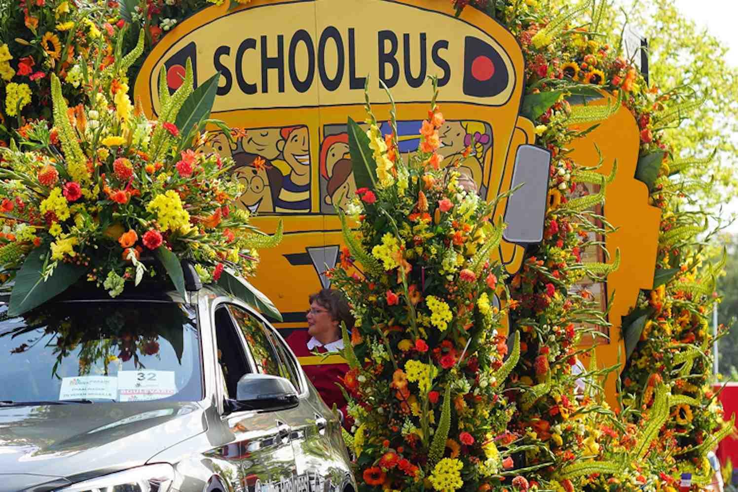 flowerparade, corso Rijnsburg