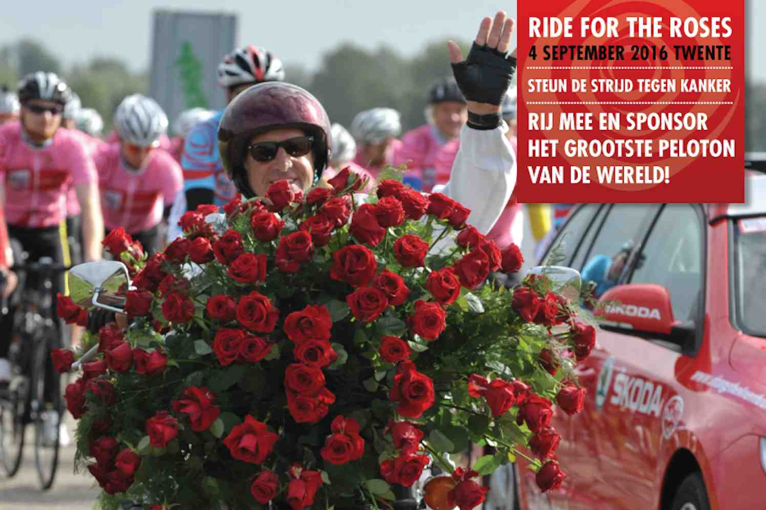 ride for the roses, kankerbestrijding