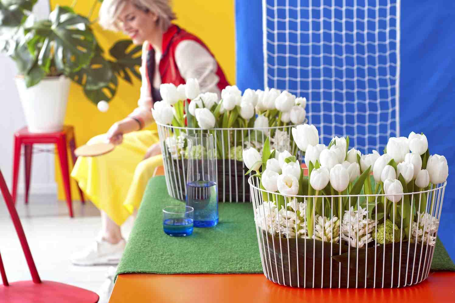 tulpen stylen volgens bloementrend 'Energise'