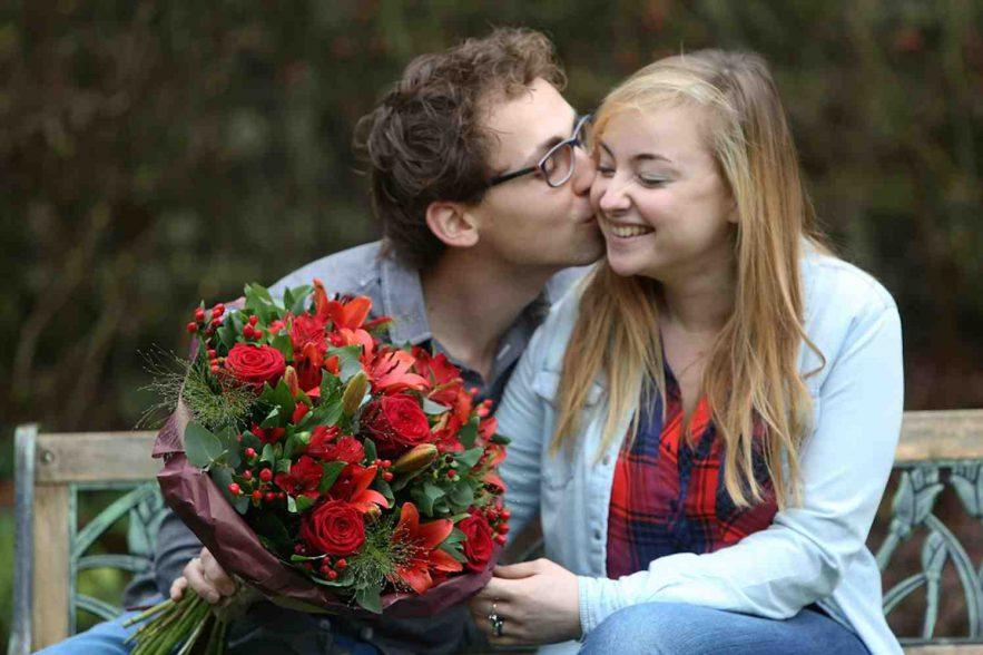 valentijn met fleurop