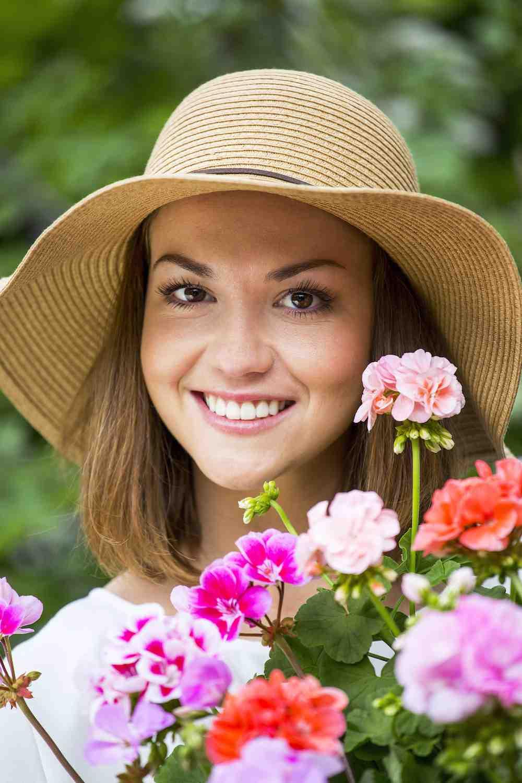 Prachtige geraniums, en zo eenvoudig in onderhoud