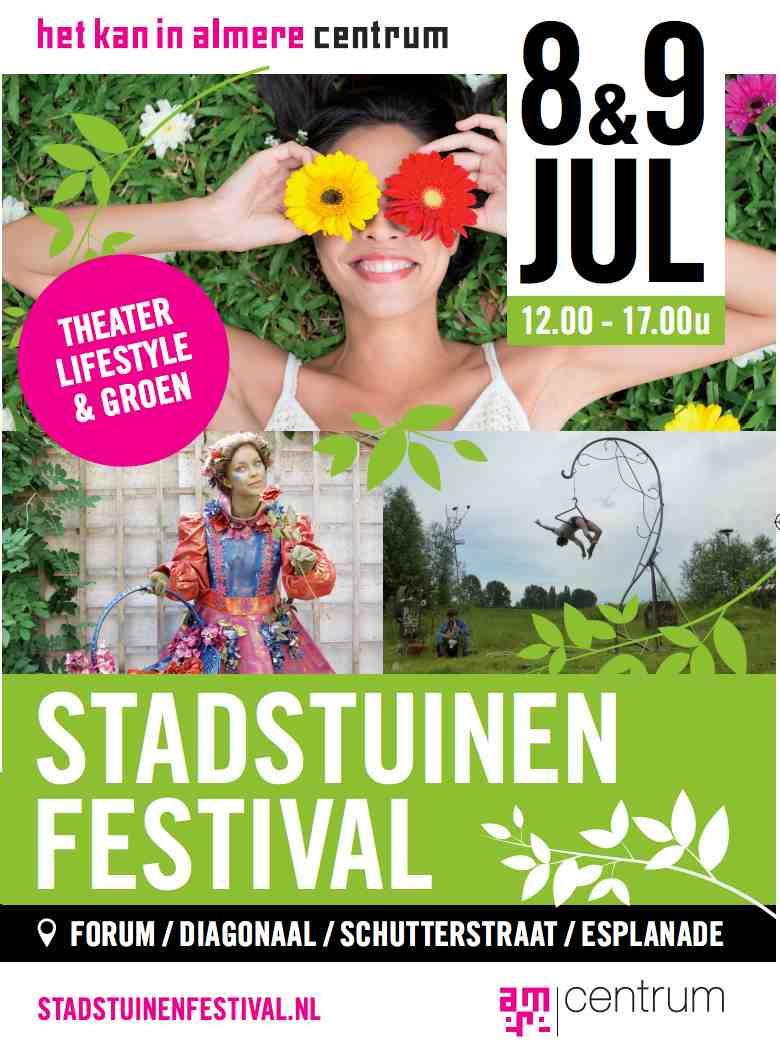 stadstuinenfestival almere