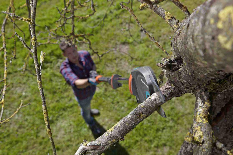boomschaar met trekhaak