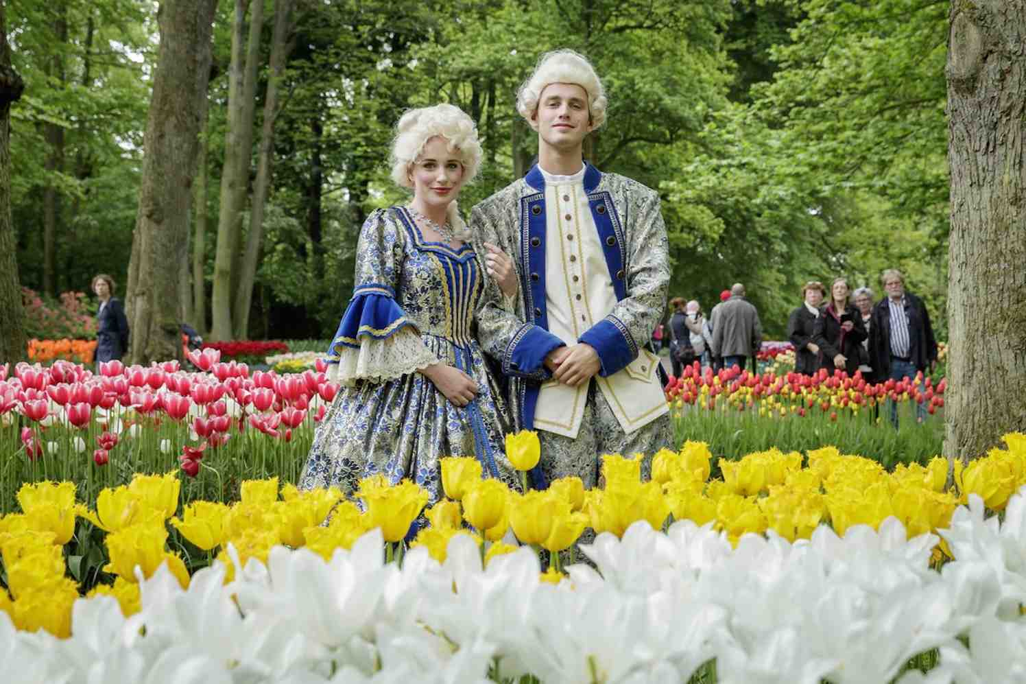 Romantiek in Keukenhof