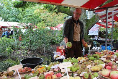 najaarsmarkt in de Hortus Amsterdam