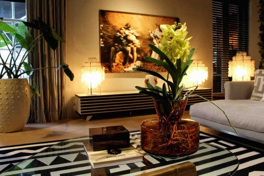 Vanda orchidee in Arsenaal Des Bouvrie