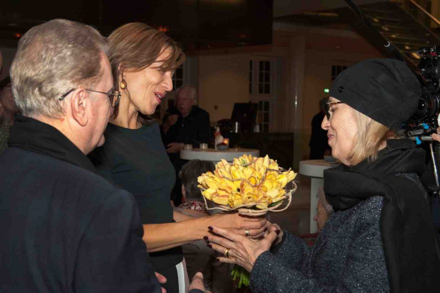 Tulp Dutch Master bij opening Hermitage