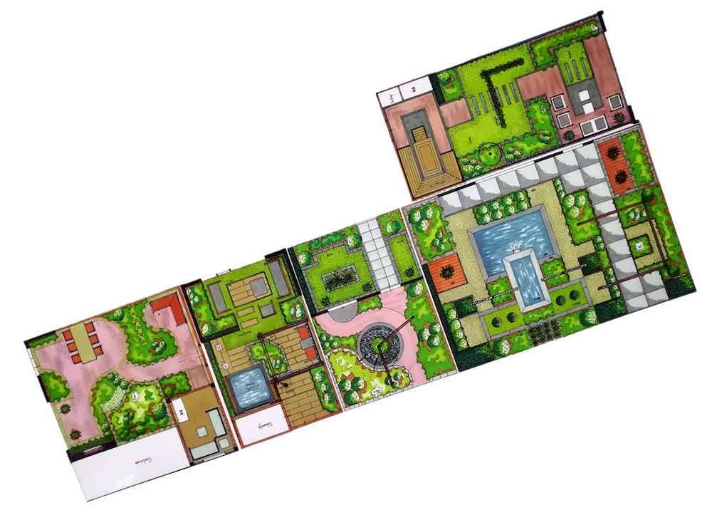 Vier ontwerpers inspiratietuinen tuinidee groenvandaag