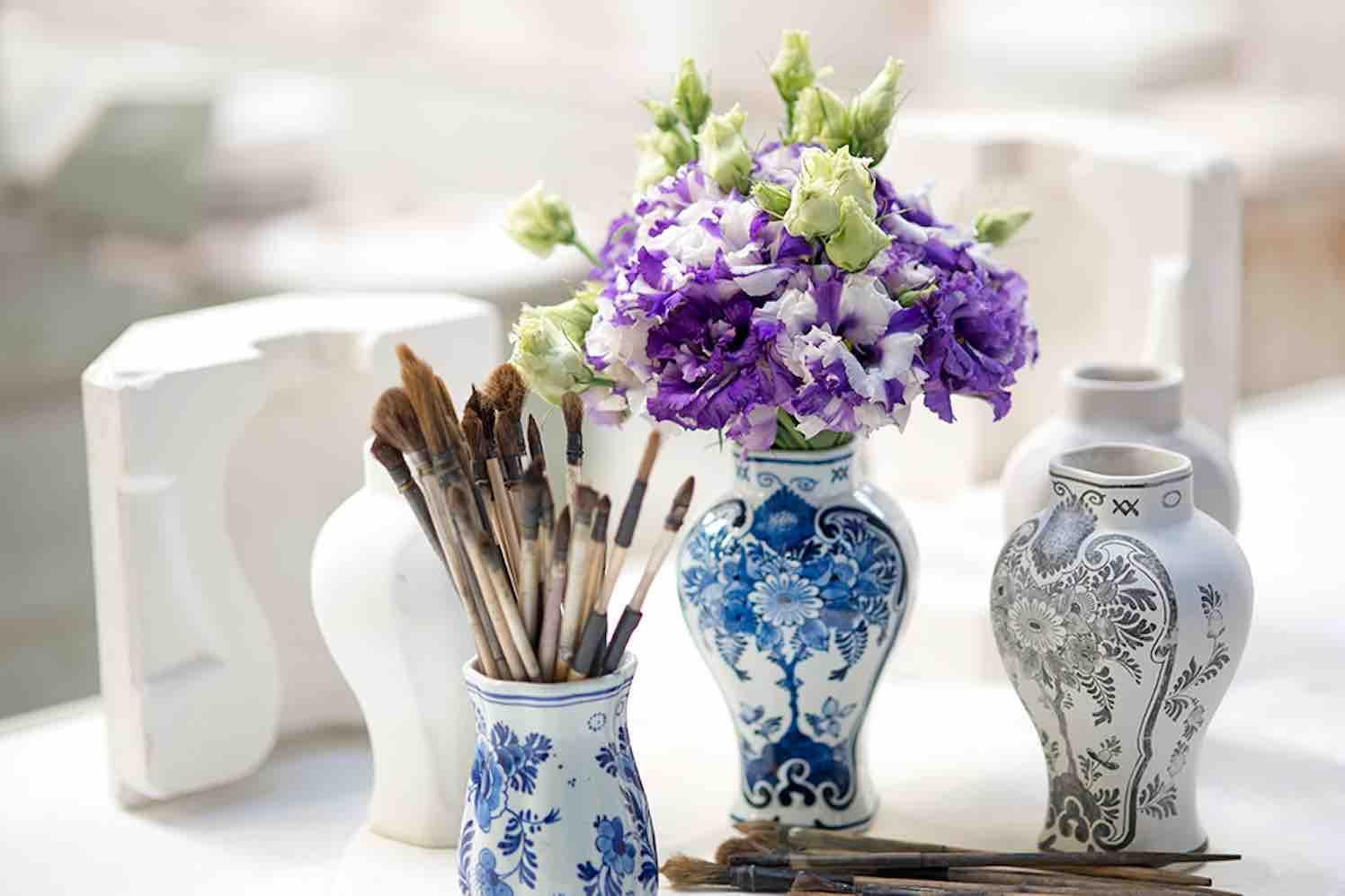Lisianthus Corelli Delft Blue