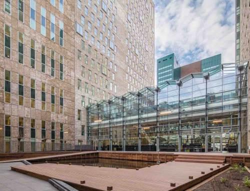 Duurzame polderdaktuin WTC The Hague geopend
