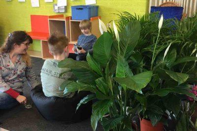 basisschool in de planten