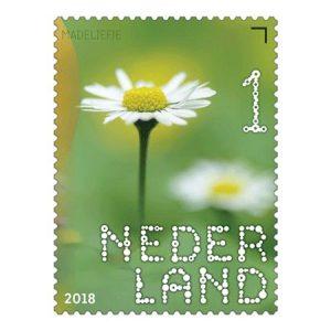 postzegels madeliefje