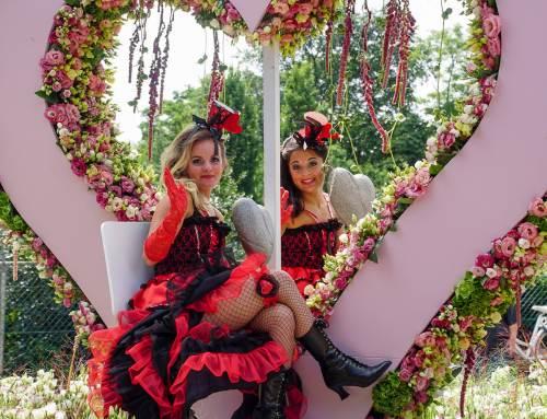 Around the World thema Flower Parade Rijnsburg