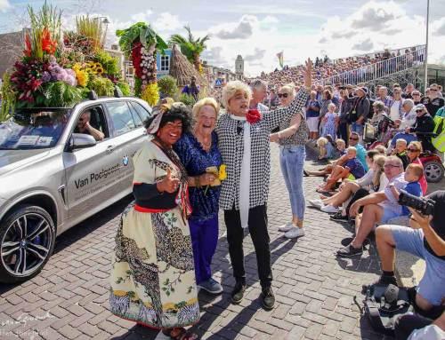 Erica Terpstra geniet van 73e Flower Parade