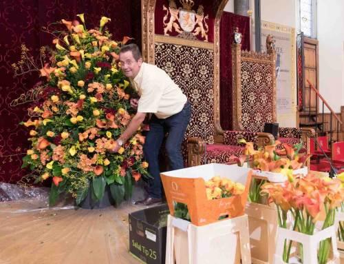 Calla's zorgen voor bloemrijke Ridderzaal