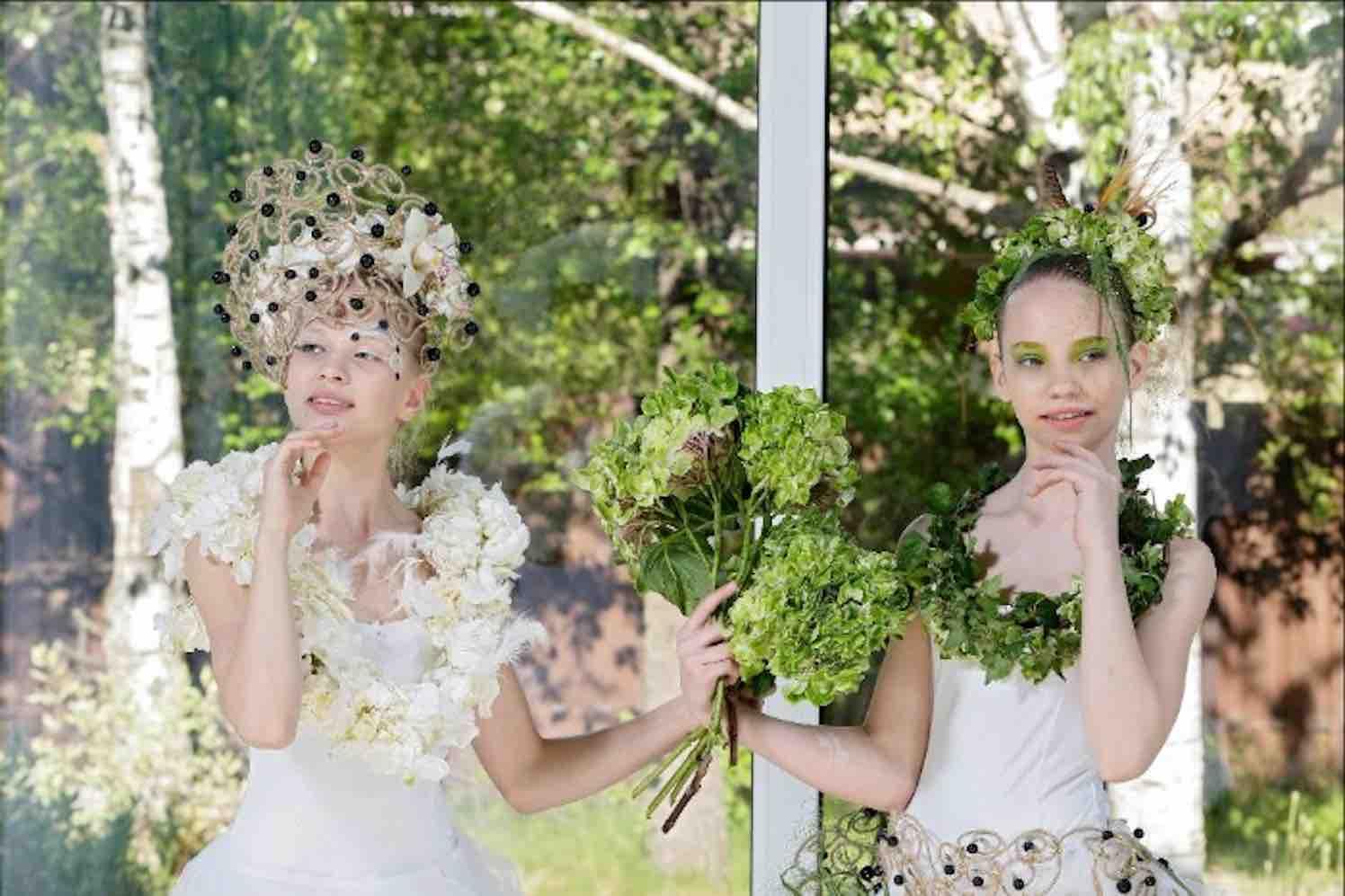 bloemen en ballet