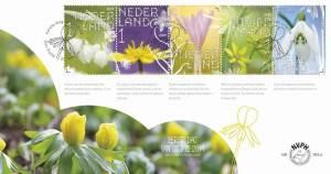 stinsenplanten op postzegel
