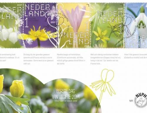 Stinsenplanten op prachtige nieuwe postzegels