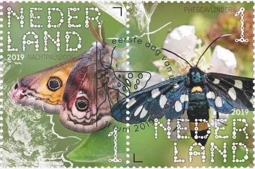 bomen postzegel