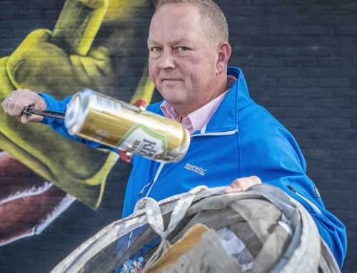 Zwerfafvalraper Dirk Groot eerste in Duurzame 100