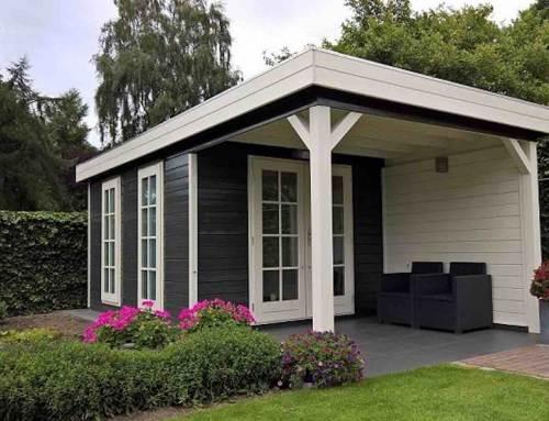 Tuinhuis maakt van achtertuin een vakantieresort