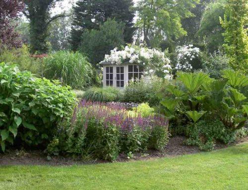 Goldhoorn Gardens, Engels landleven