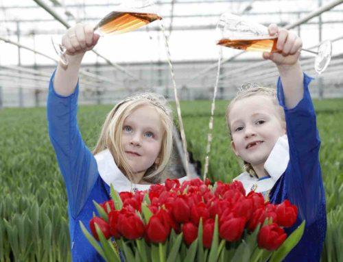 Prinsesjes dopen de Tulipa Make-A-Wish