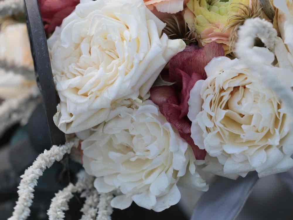 Trouwen en de trosroos Rosa Bridal Flow