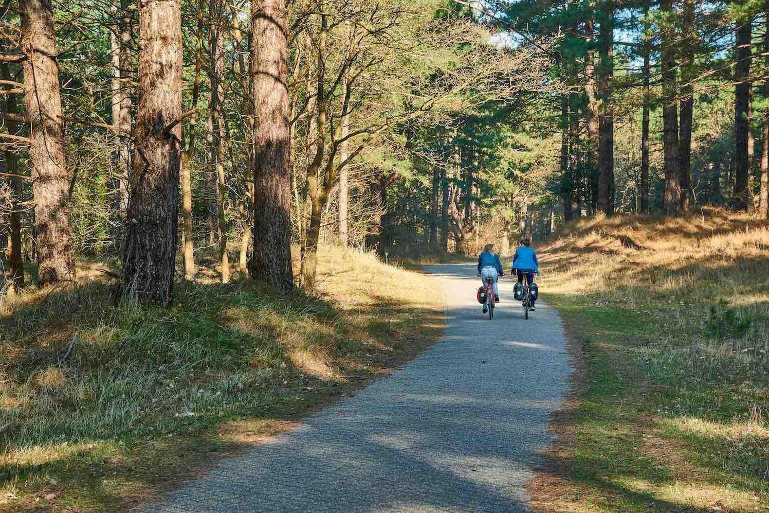 fietsen en overnachten