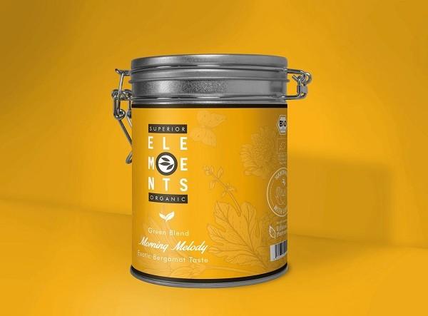 Losse, biologische thee in fraaie design blikken