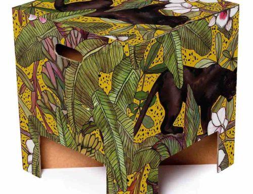 Een kartonnen krukjes, Hollandse exotica