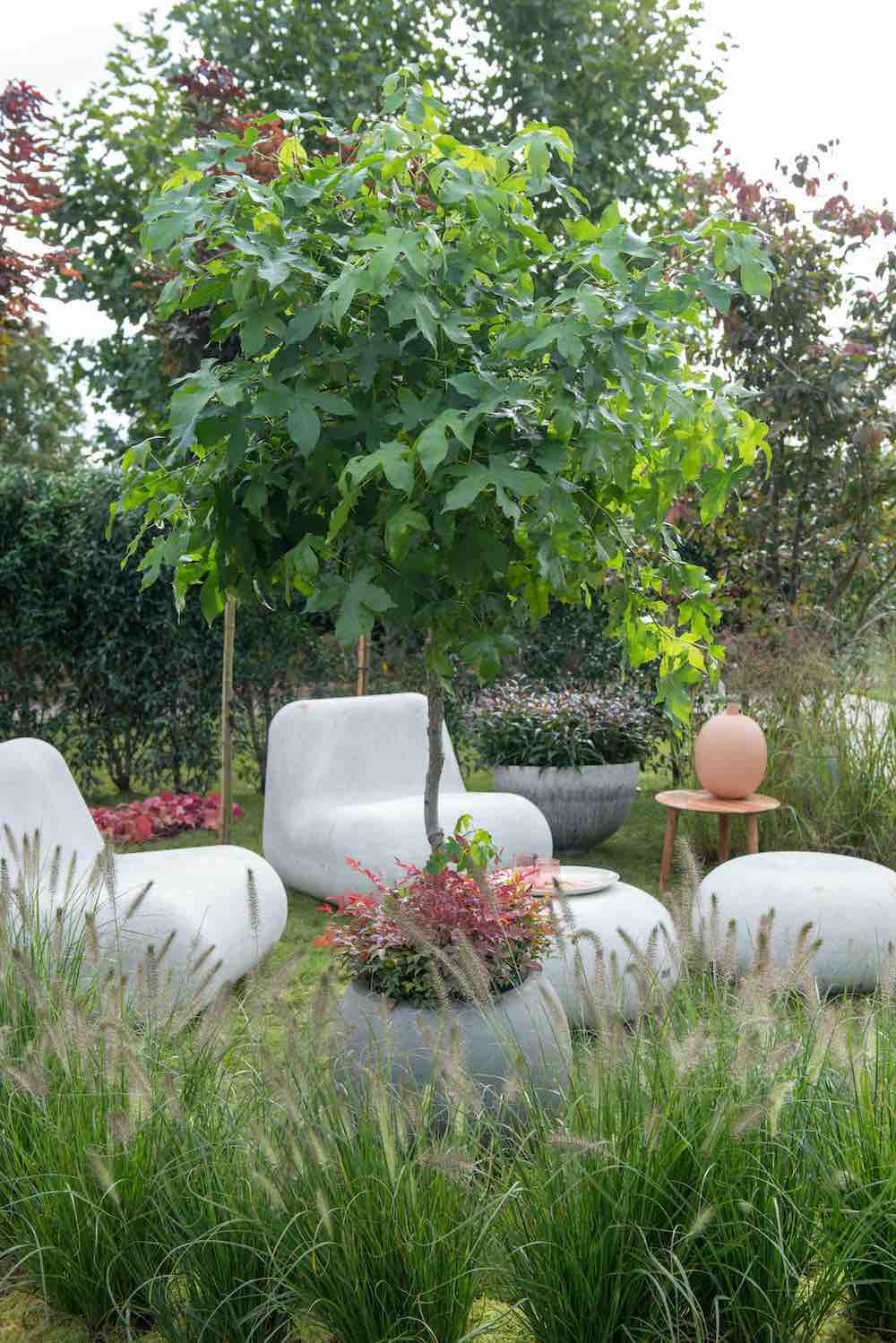 zachte veilige tuin
