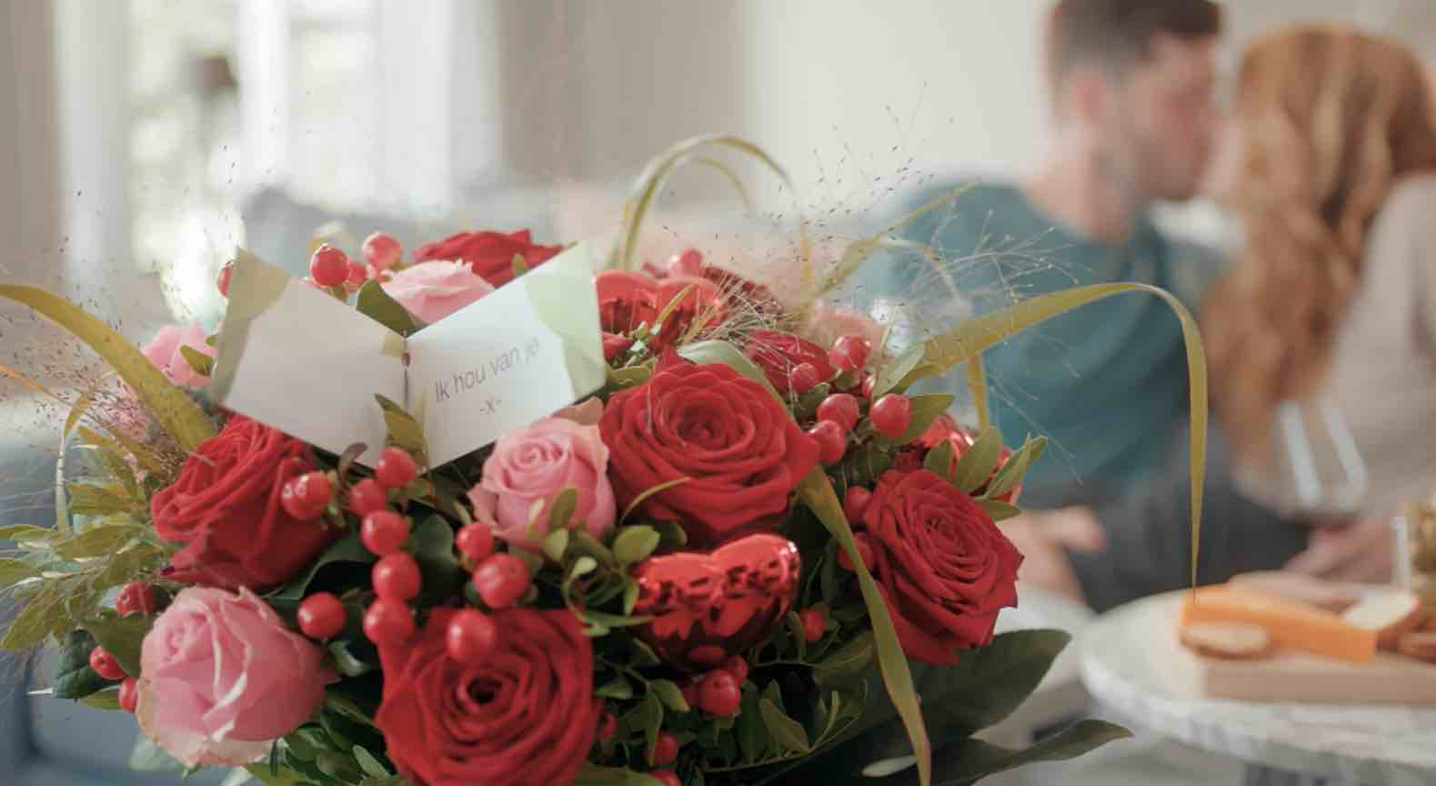 valentijnboeket